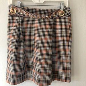 ❤️Tory Burch ❤️ plaid skirt